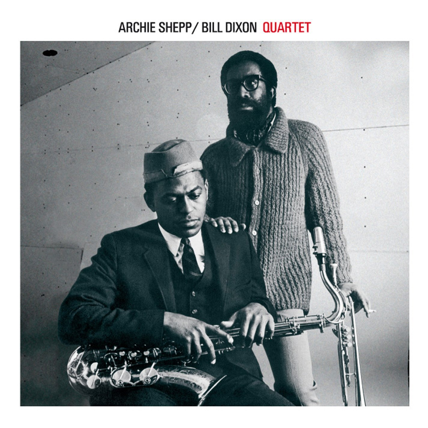 ARCHIE SHEPP, BILL DIXON - QUARTET (CD)