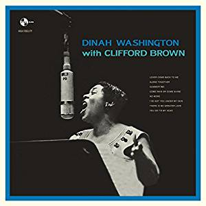 DINAH WASHINGTON WITH CLIFFORD BROWN (LP)