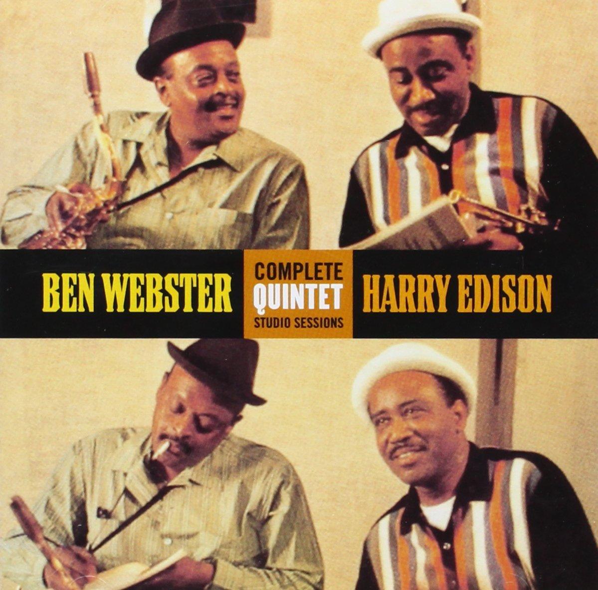 BEN WEBSTER - HARRY EDISON COMPLETE QUINTET STUDIO SESSIONS (C