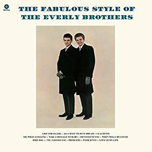 EVERLY BROTHERS - THE FABULOUS STYLE OF + 2 BONUS TRACKS (LP)