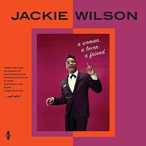 JACKIE WILSON - A WOMAN, A LOVER, A FRIEND (LP)