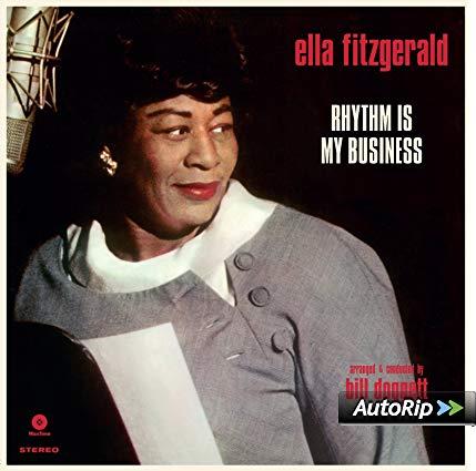 ELLA FITZGERALD - RHYTHM IS MY BUSINESS (LP)