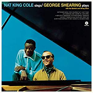 NAT KING COLE - NAT KING COLE SINGS GEORGE SHEARING PLAYS (LP)