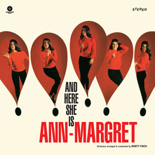 ANN-MARGRET - AND THERE SHE IS (LIMITED EDITION) (LP)