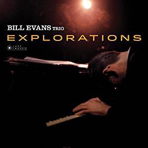 BILL EVANS TRIO - EXPLORATIONS (LP)