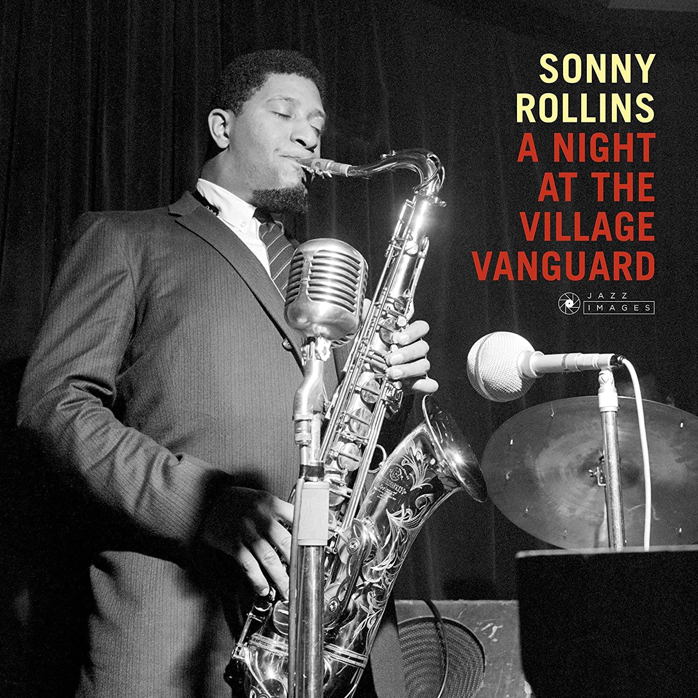 SONNY ROLLINS - NIGHT AT THE VILLAGE VANGUARD (LP)