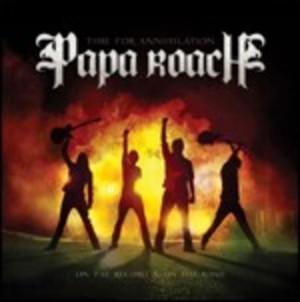 PAPA ROACH - TIME FOR ANNIHILATION... ON THE RECORD & ON THE ROAD -2CD (CD)