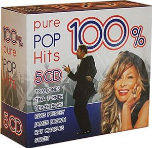 100 % PURE POP HITS -5CD (CD)