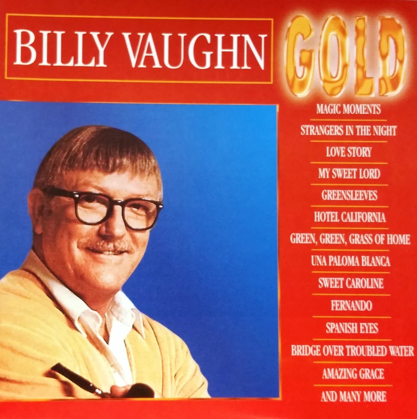BILLY VAUGHN - GOLD (CD)