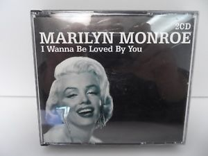 MARILYN MONROE - I WANNA BE LOVED BY YOU -2CD (CD)