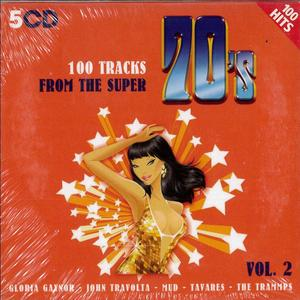100 TRAKS FROM THE SUPER 70'S -5CD (CD)