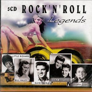 ROCK'N'ROLL LEGENDS -5CD (CD)