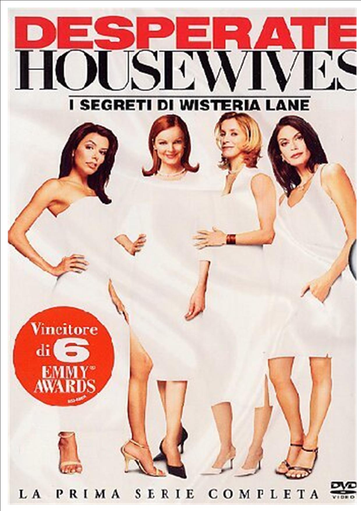 COF.DESPERATE HOUSEWIVES - STAG.01 (6DVD) (DVD)