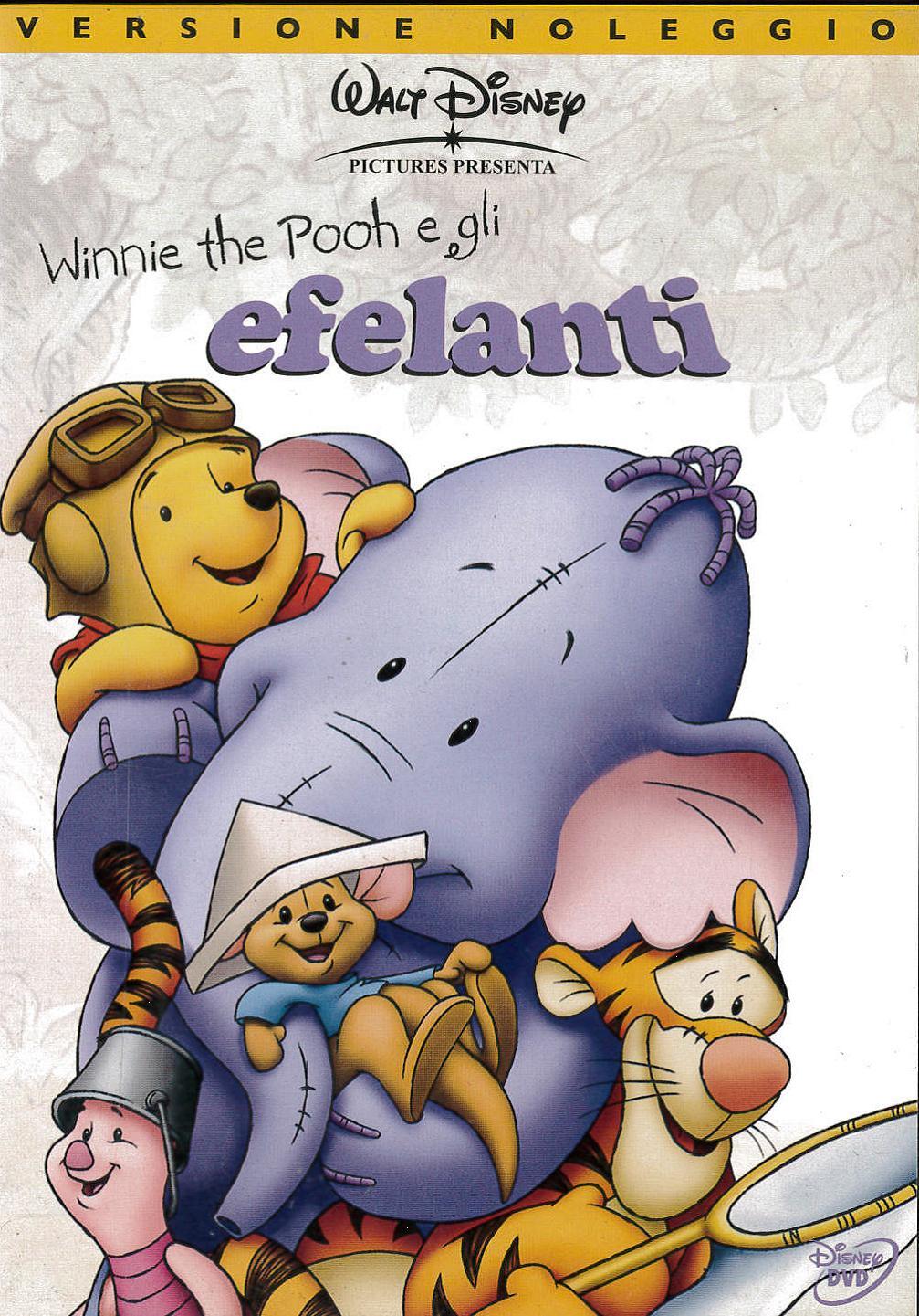 WINNIE THE POOH E GLI EFELANTI - EX NOLEGGIO (DVD)