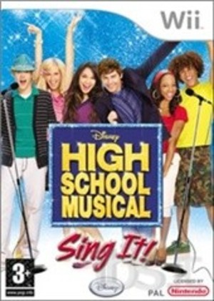 HIGH SCHOOL MUSICAL SING IT + MICROFONO