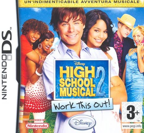 HIGH SCHOOL MUSICAL 2 WORK THIS OUT DS