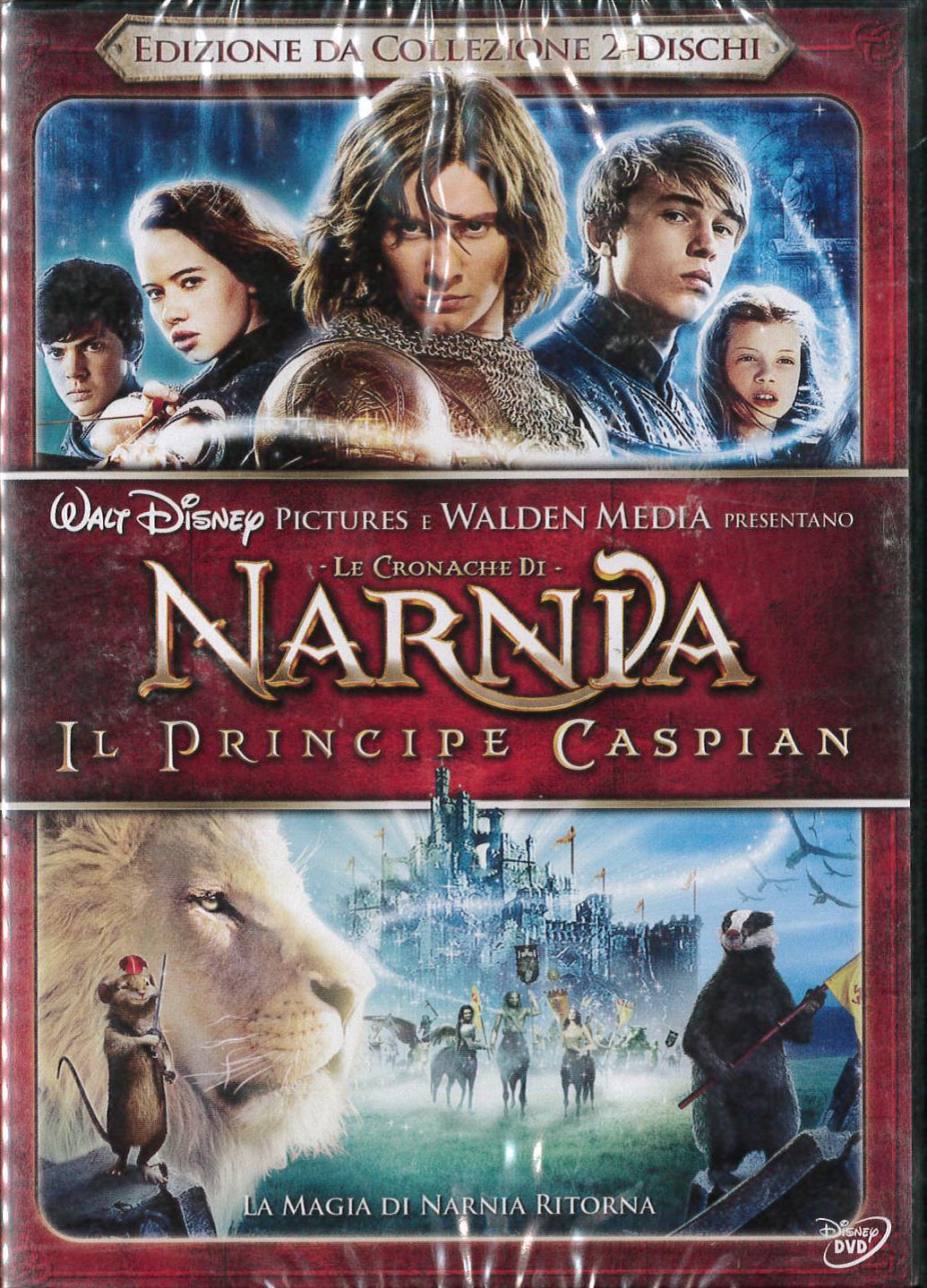 LE CRONACHE DI NARNIA: IL PRINCIPE CASPIAN (2 DVD) (DVD)