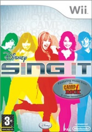 SING IT CAMP ROCK WII