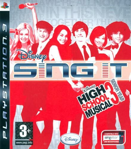HIGH SCHOOL MUSICAL: SING IT (SOLO GIOCO) PS3