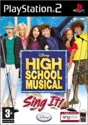 HIGH SCHOOL MUSICAL3: SING IT (SOLO GIOCO) PS2