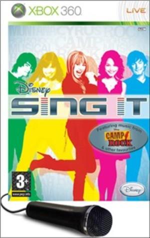 SING IT + MICROFONO XBOX 360