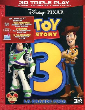 TOY STORY 3 (REAL 3D) (BLU-RAY + BLU-RAY 3D + E-COPY)