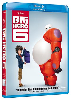 BIG HERO 6 (BLU RAY)
