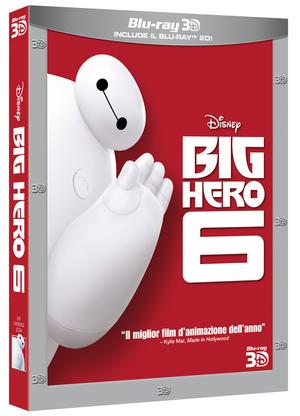 BIG HERO 6 (3D) (BLU-RAY+BLU-RAY 3D)