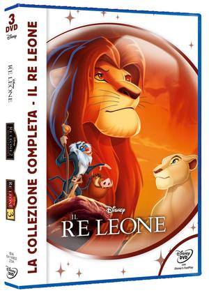 COF.IL RE LEONE - LA COLLEZIONE COMPLETA (3 DVD) (NEW CLASSIC ED
