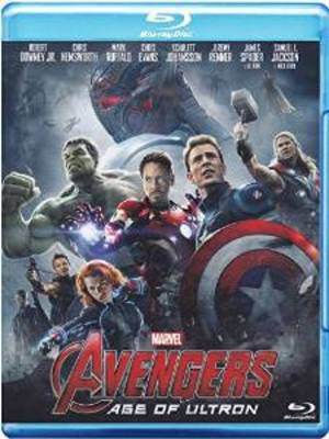 AVENGERS - AGE OF ULTRON (BLU RAY)