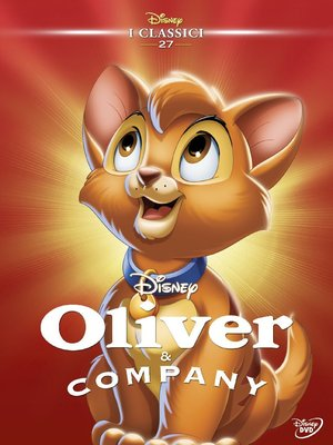 OLIVER & COMPANY (DVD)