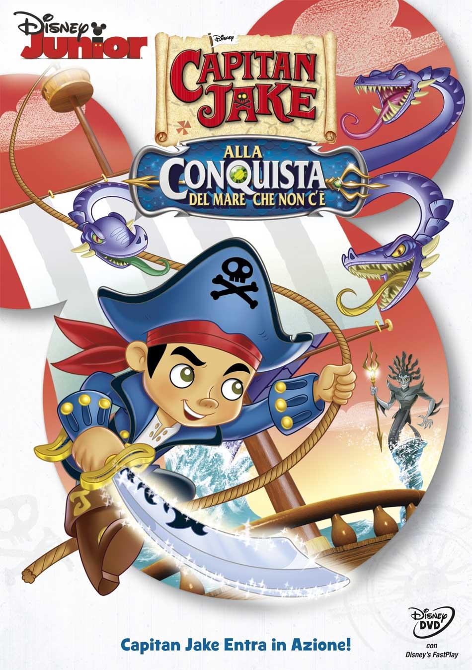 CAPITAN JAKE - ALLA CONQUISTA DEL MARE CHE NON C'E' (DVD)