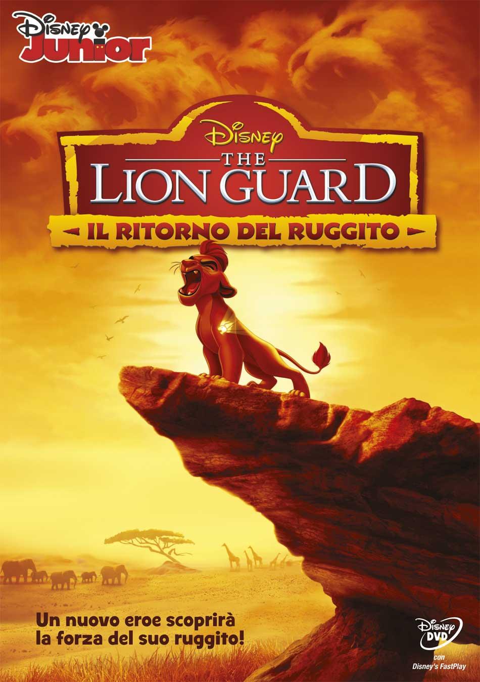 THE LION GUARD - IL RITORNO DEL RUGGITO (DVD)