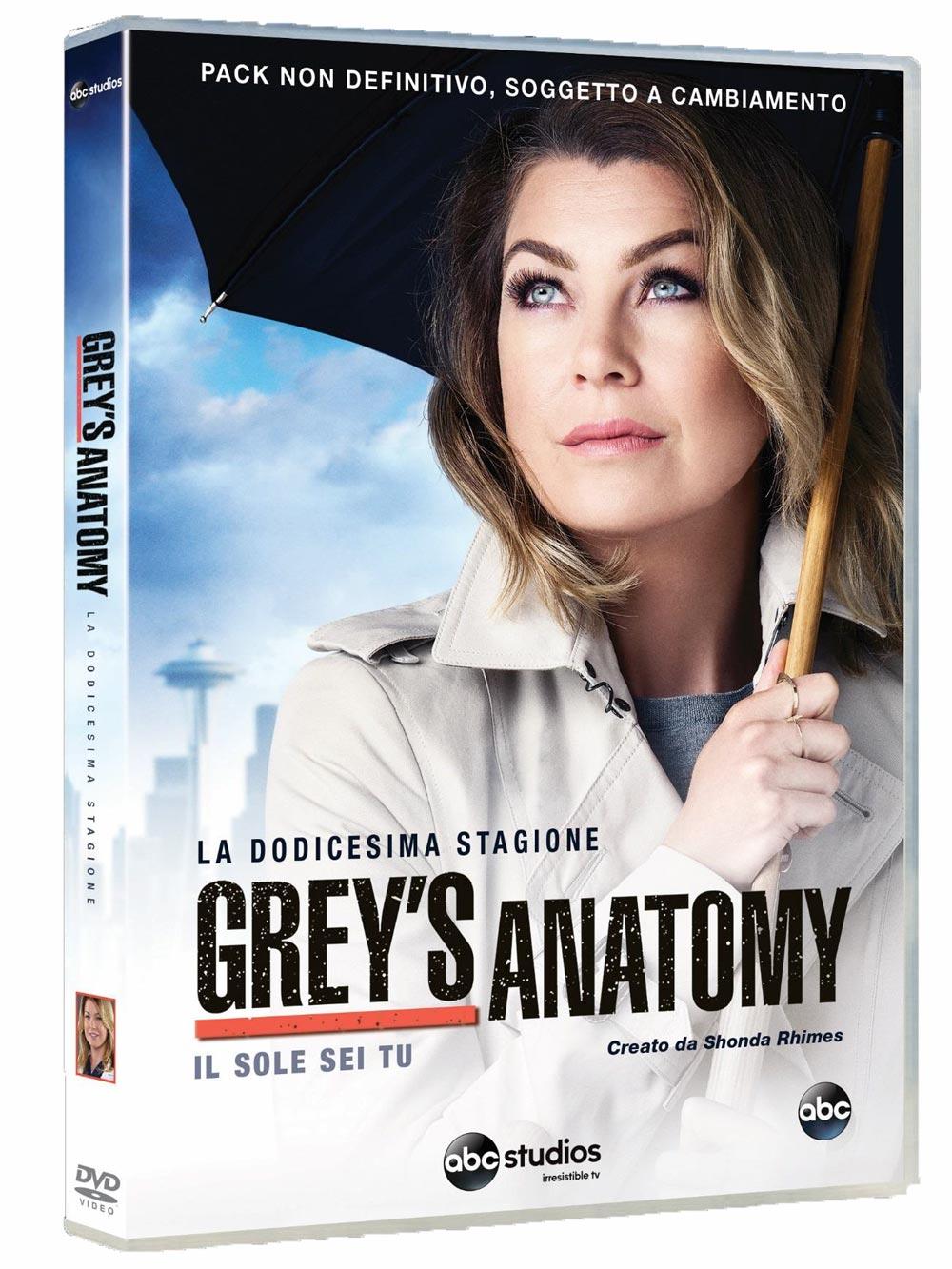 COF.GREY'S ANATOMY - STAG. 12 (6 DVD) (DVD)