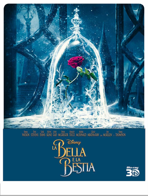 LA BELLA E LA BESTIA (2017) (3D) (BLU-RAY 3D+BLU-RAY) (LTD STEEL