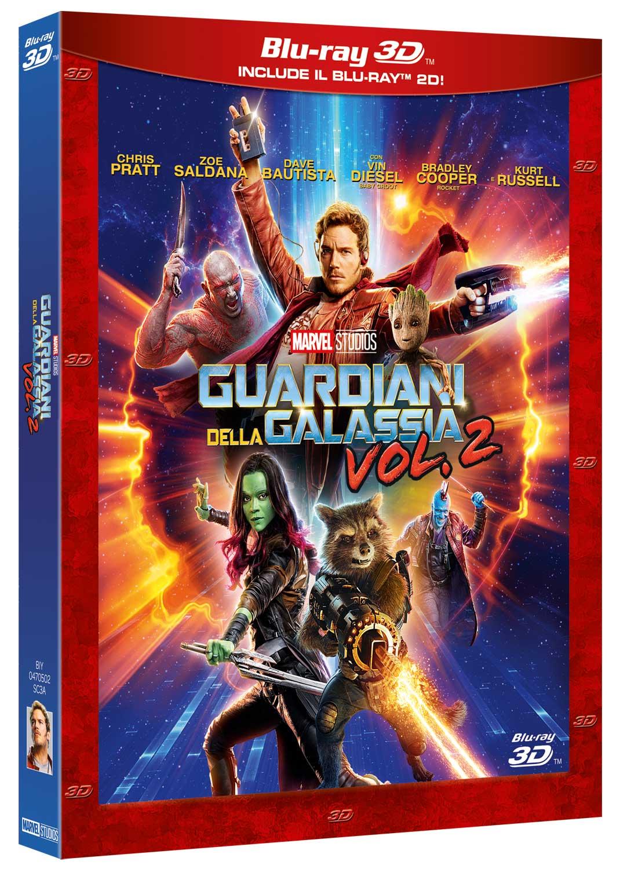GUARDIANI DELLA GALASSIA VOL. 2 (3D) (BLU-RAY 3D+BLU-RAY)