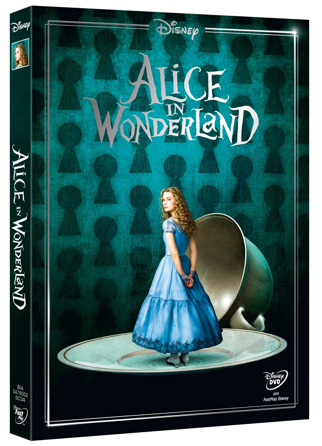 ALICE IN WONDERLAND (LIVE ACTION) (NEW EDITION) - (DVD)