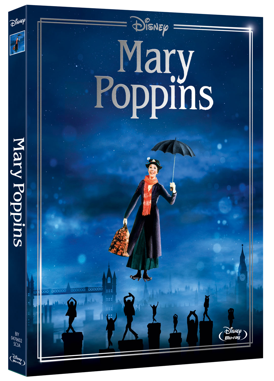 MARY POPPINS (NEW EDITION) - BLU RAY