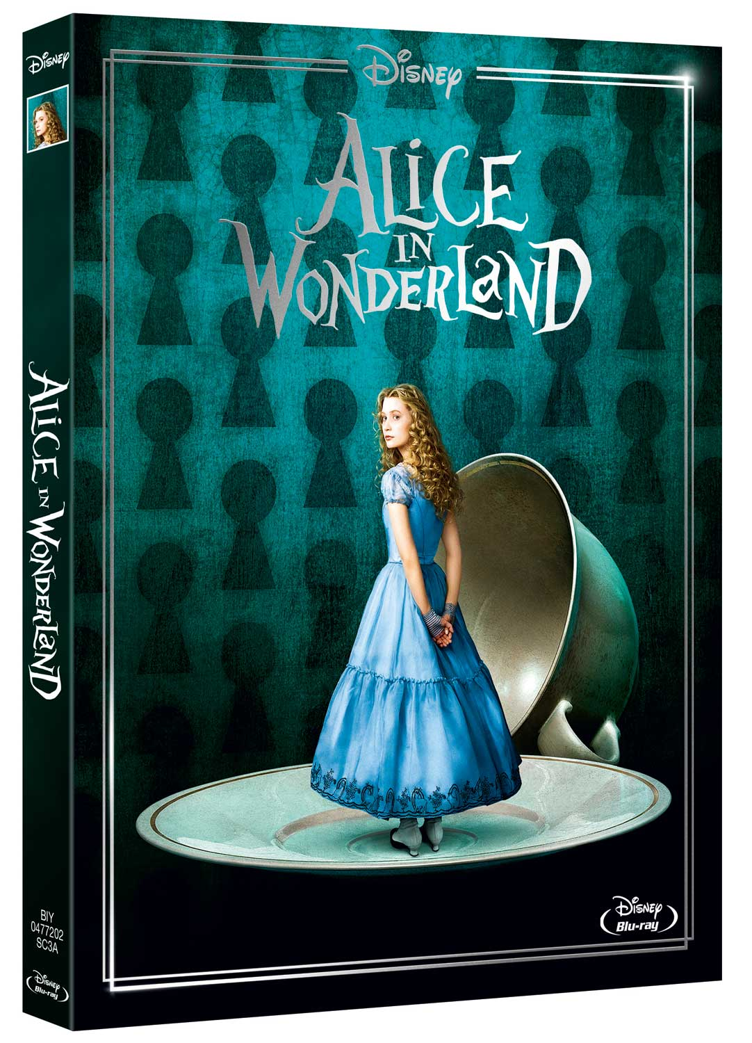 ALICE IN WONDERLAND (LIVE ACTION) (NEW EDITION) - BLU RAY
