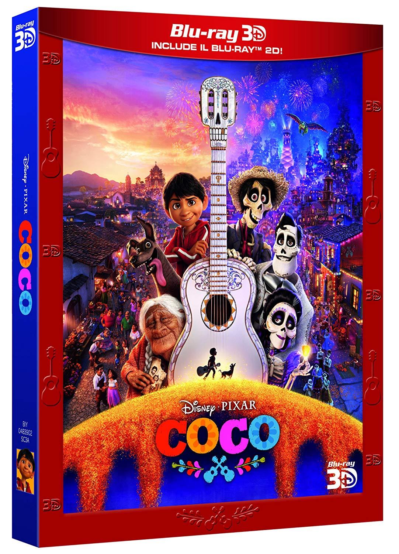 COCO - BLU RAY 3D + BLU RAY 2D + DISCO BONUS