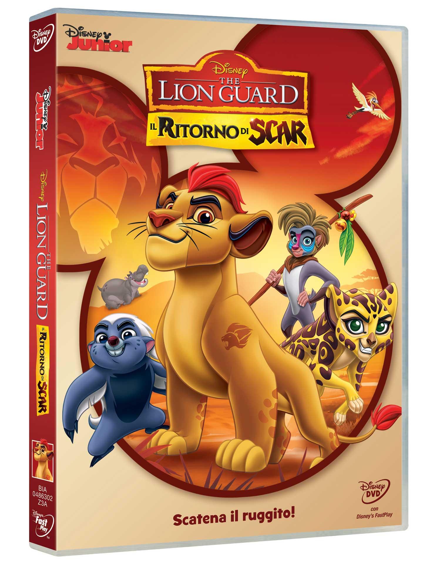 THE LION GUARD - IL RITORNO DI SCAR (DVD)