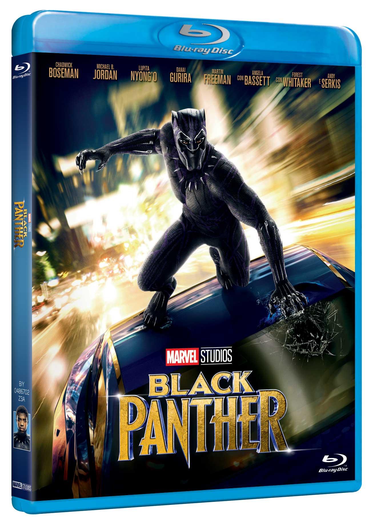 BLACK PANTHER - BLU RAY