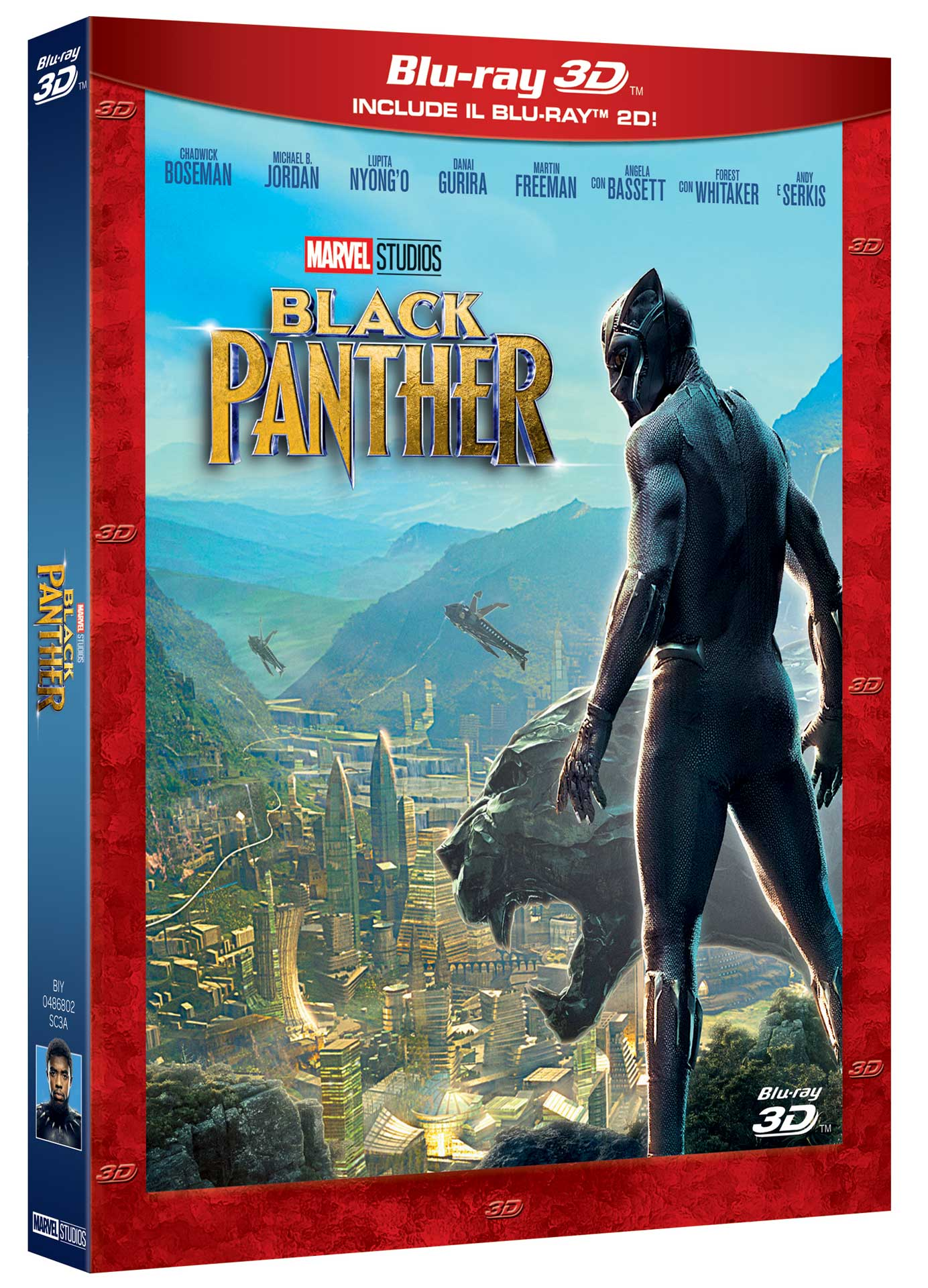 BLACK PANTHER (3D) (BLU-RAY 3D+BLU-RAY)