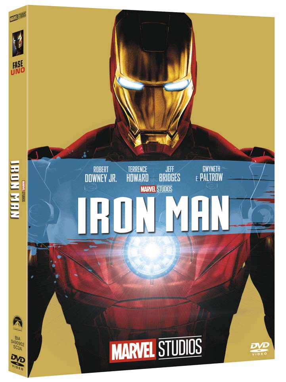 IRON MAN (EDIZIONE MARVEL STUDIOS 10 ANNIVERSARIO) (DVD)