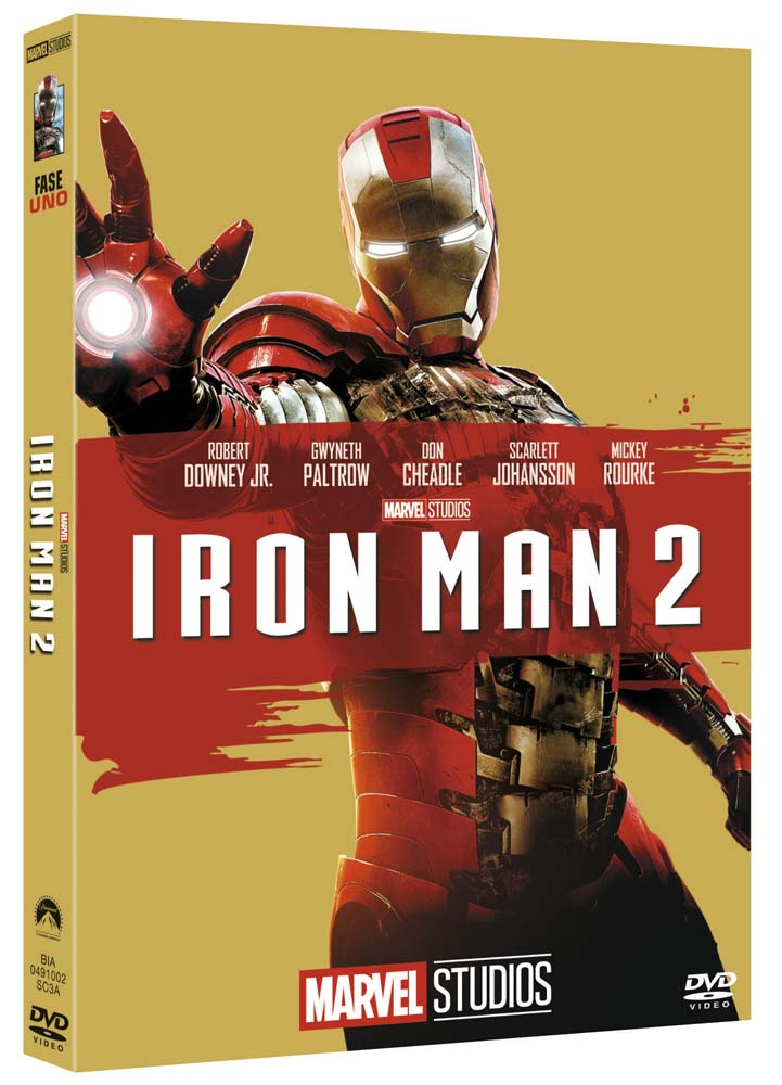 IRON MAN 2 (EDIZIONE MARVEL STUDIOS 10 ANNIVERSARIO) (DVD)