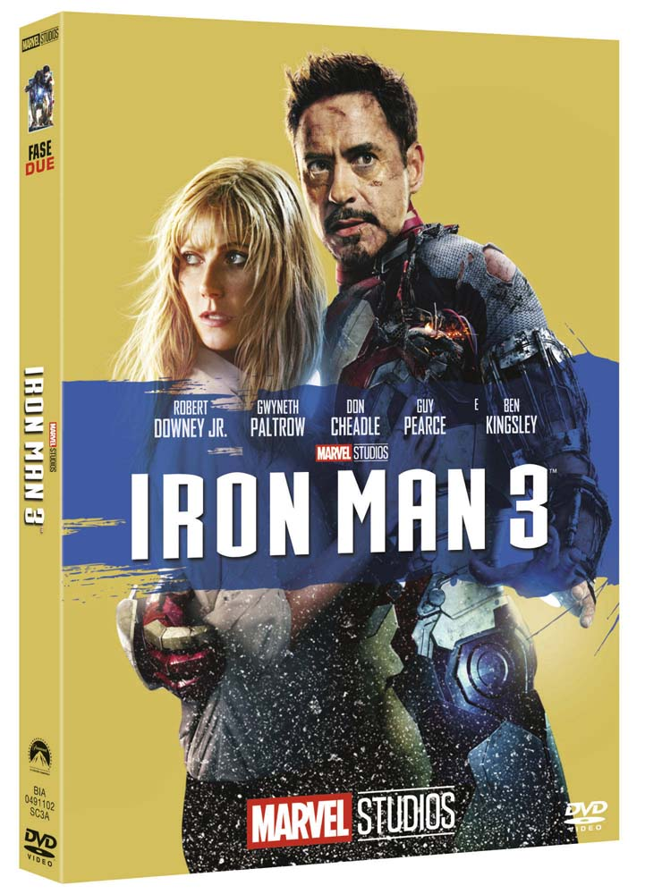 IRON MAN 3 (EDIZIONE MARVEL STUDIOS 10 ANNIVERSARIO) (DVD)