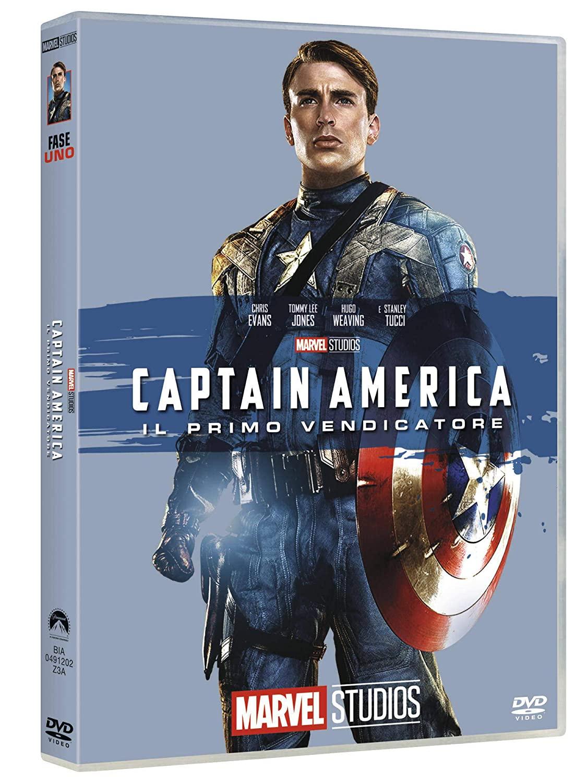 CAPTAIN AMERICA (EDIZIONE MARVEL STUDIOS 10 ANNIVERSARIO) (DVD)