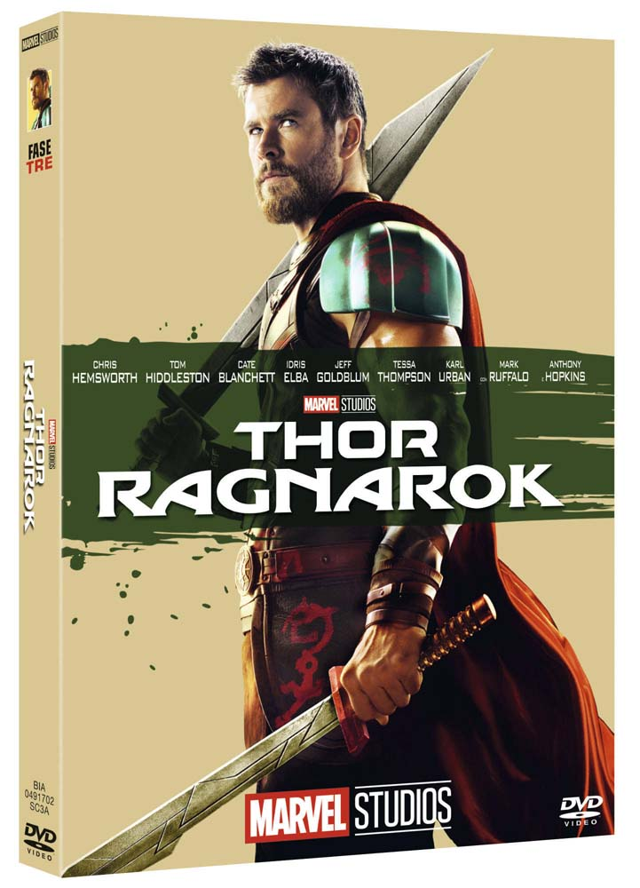 THOR RAGNAROK (EDIZIONE MARVEL STUDIOS 10 ANNIVERSARIO) (DVD)