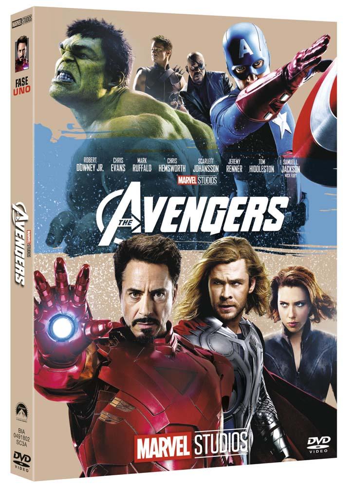 THE AVENGERS (EDIZIONE MARVEL STUDIOS 10 ANNIVERSARIO) (DVD)