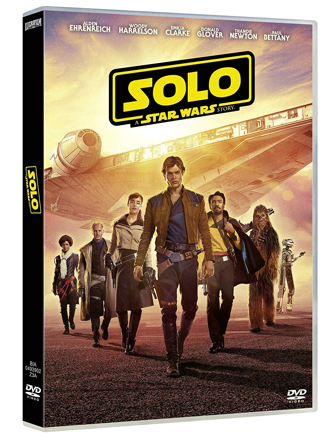 STAR WARS - SOLO: A STAR WARS STORY (DVD)